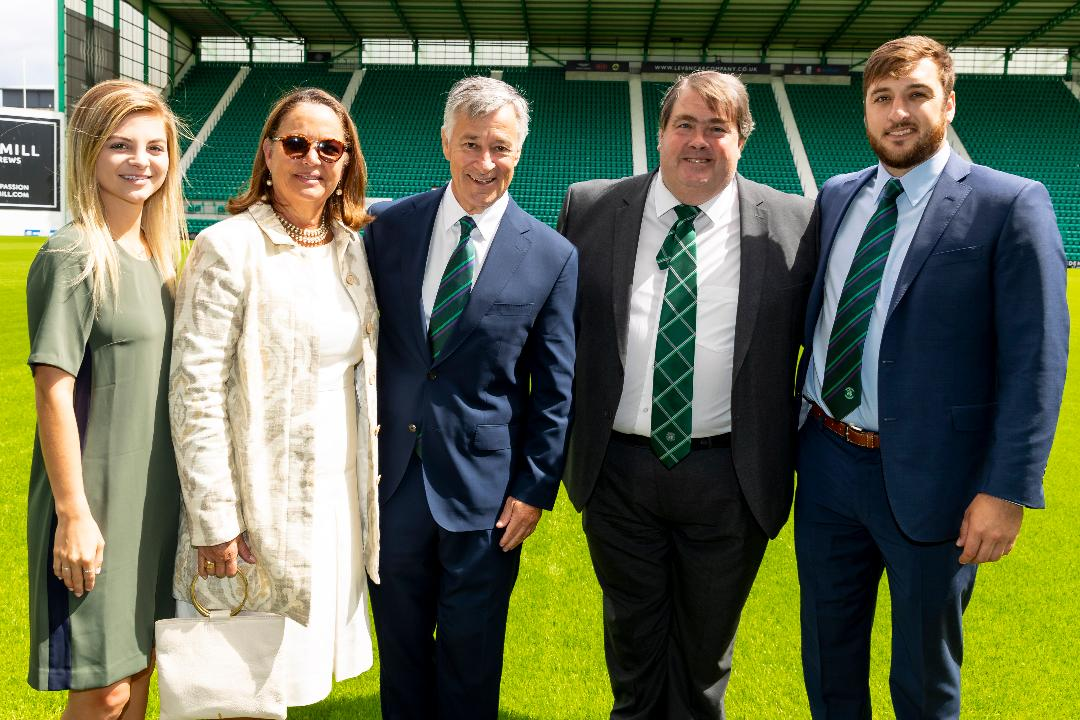 WELCOME TO THE HIBERNIAN FAMILY